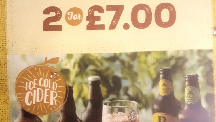 Bottled Cider – 2 for £7.00