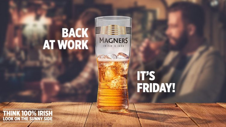 We have a great offer of 2 bottles Magners or Old Mout Cider for just £8