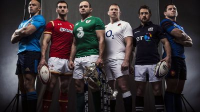 All Rugby Six Nation Matches shown at the Huntsman Tavern