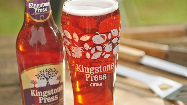 Try a Pint of our Kingston Press Wild Berry