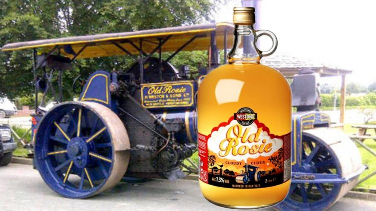 Try our new Old Rosie Cider